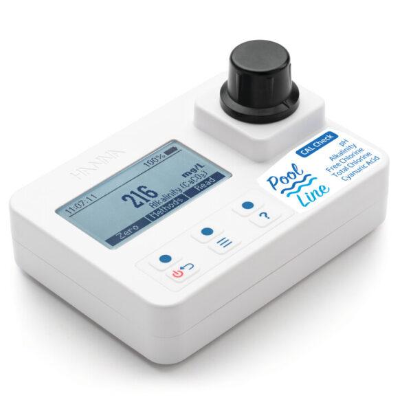 Fotometer alkaliniteit, vrij/totaal chloor, pH en cyanuurzuur HI971044