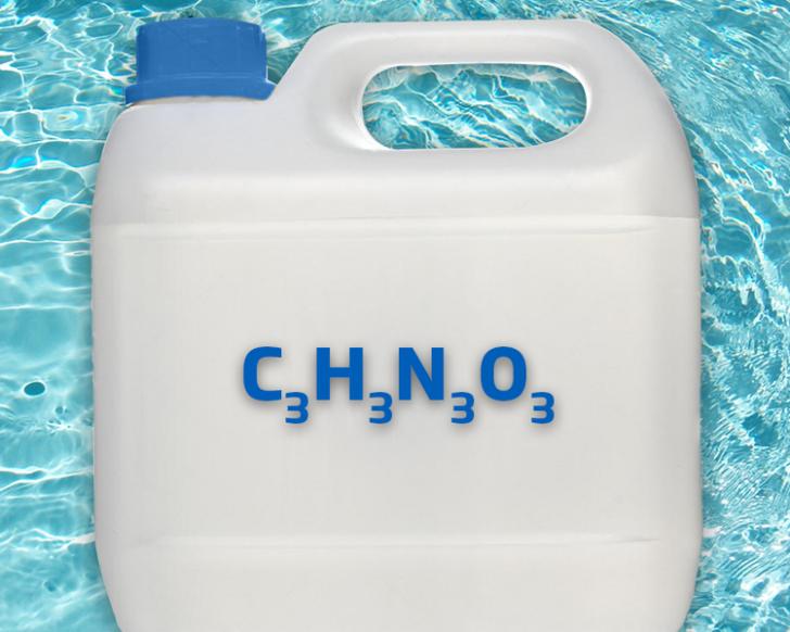 Wat is cyanuurzuur in een zwembad?